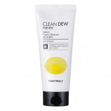 Пенка для умывания Tony Moly с экстрактом лимона Clean Dew Lemon Foam Cleanser 180мл