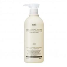 LADOR TRIPLEX NATURAL SHAMPOO Безсульфатный органический шампунь с эфирными маслами, 530 мл