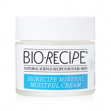Увлажняющий крем для лица- база под макияж MacQueen Bio Recipe Mineral Moistful Cream